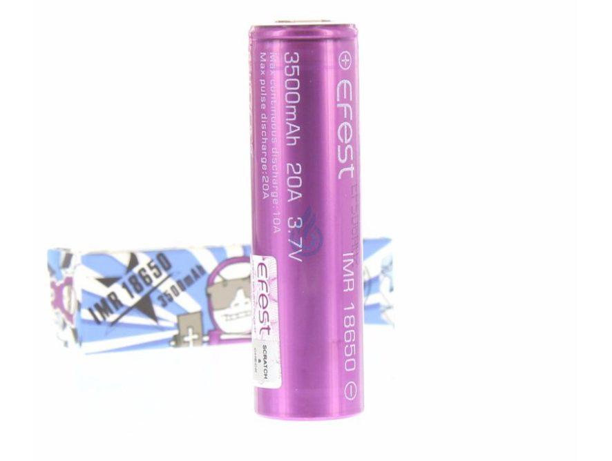 Baterías Efest 18650 3500mAh 20A