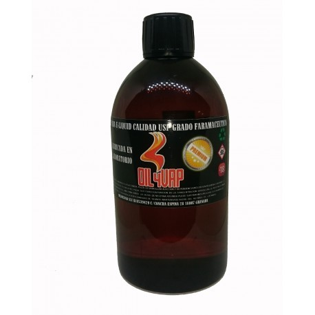 Base Oil4Vap 500ml 0MG TPD