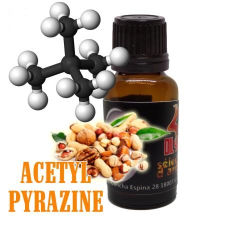 Molécula OIL4VAP Acetyl Pyrazine
