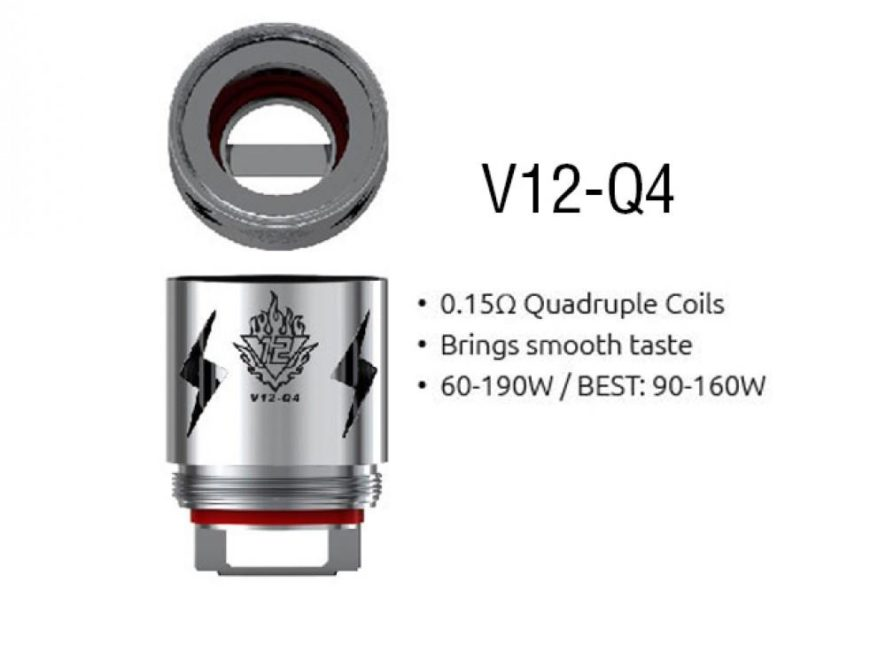 Smok TFV12 V12 Q4 0.15Ohm