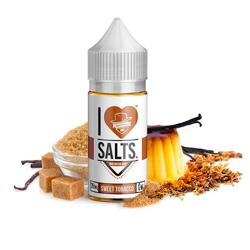 SWEET TOBACCO I LOVE SALTS 20MG - MAD HATTER