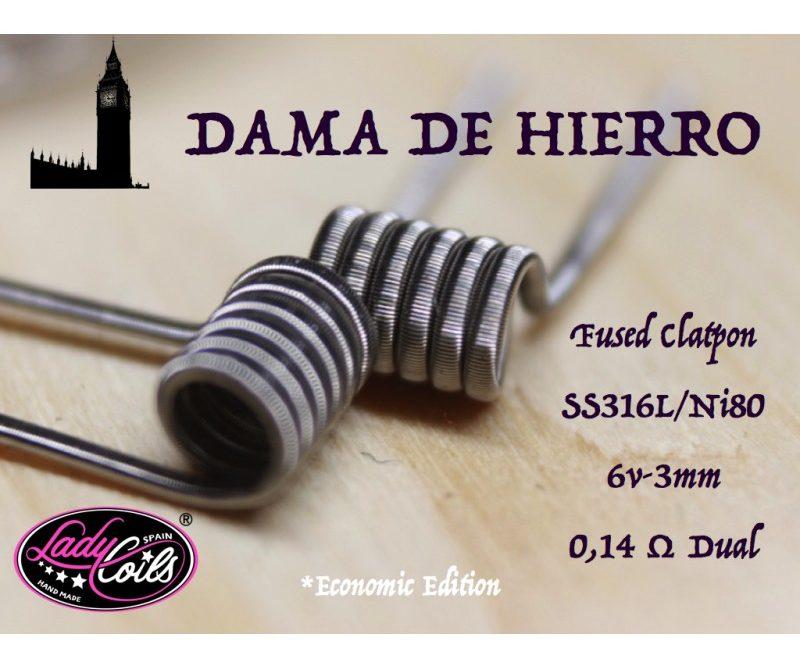 DAMA DE HIERRO 0.14/ 0.28 ohms - LADY COILS