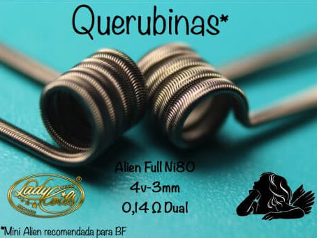 QUERUBINAS 0.14/ 0.28 ohms - LADY COILS