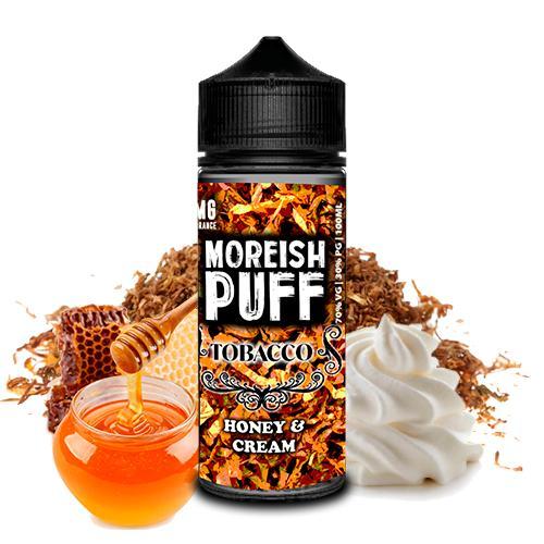 TOBACCO HONEY CREAM 100ML - MOREISH PUFF