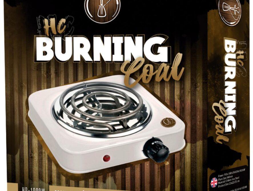 HORNILLO ELECTRICO HC BURNING COAL 1000W