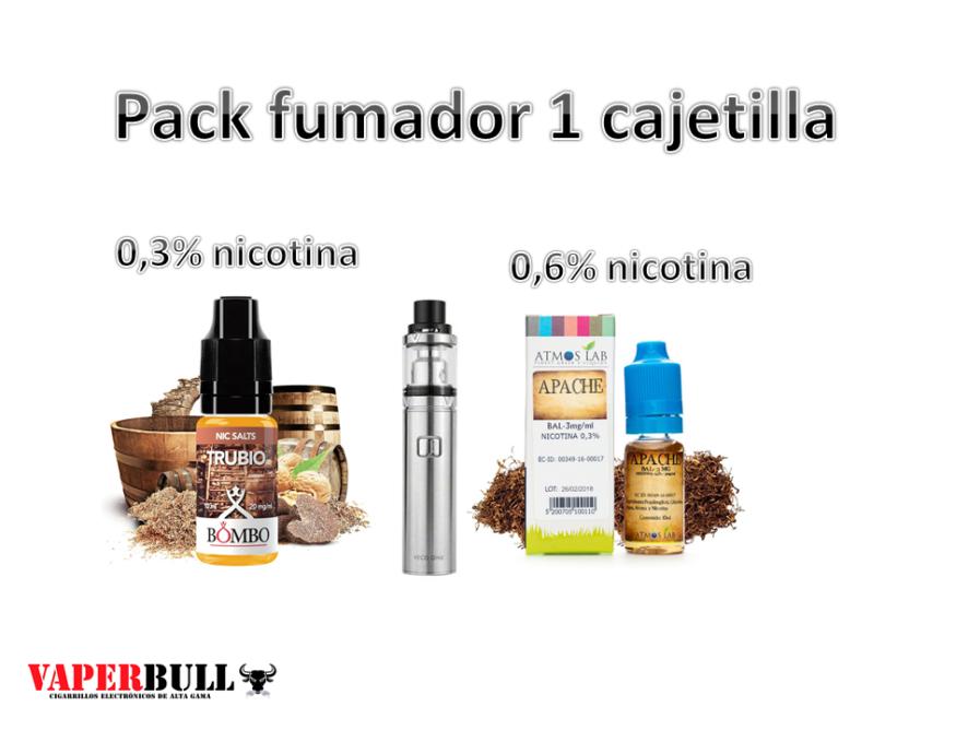 PACK FUMADOR 1 CAJETILLA