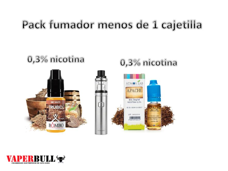 PACK FUMADOR MENOS DE 1 CAJETILLA