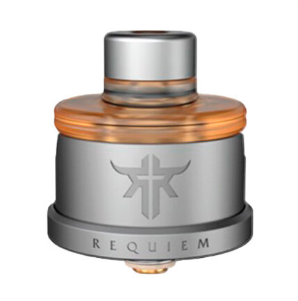 REQUIEM RDA 22MM - VANDY VAPE BY EL MONO VAPEADOR - FROSTED GREY