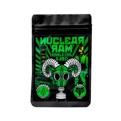 CHERNOBYL COILS NUCLEAR RAM SINGLE 0.25 OHM - CHARRO COILS