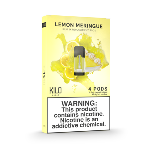 LEMON MERENGUE KILO - 4 X CARTUCHOS 1K POD 20MG 1,5ML