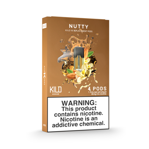 NUTTY KILO - 4 X CARTUCHOS 1K POD 20MG 1,5ML