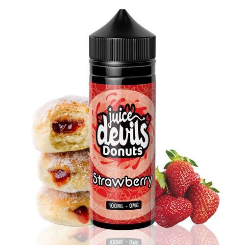 STRAWBERRY DONUTS - JUICE DEVILS - 100ML