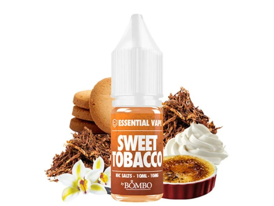 SWEET TOBACO - ESSENTIAL VAPE by BOMBO SALTS 20MG