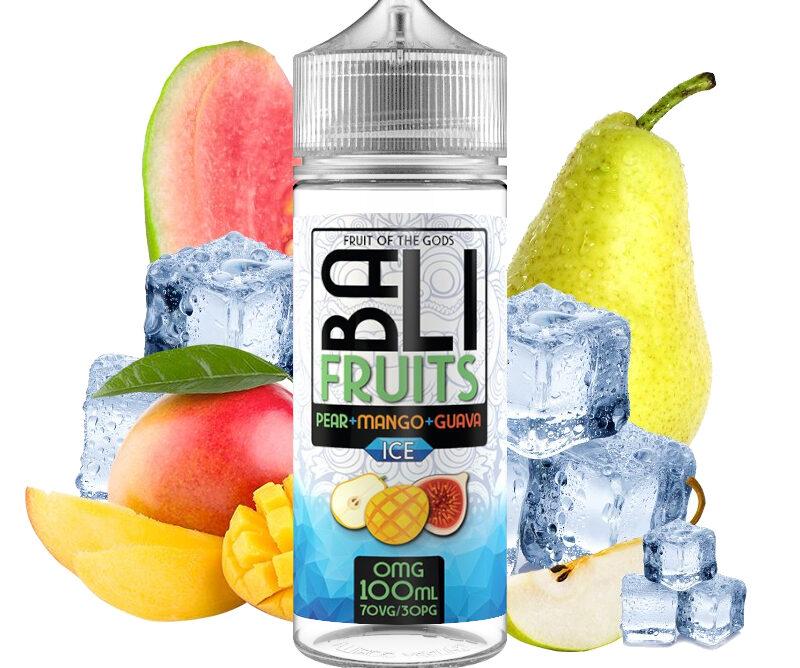 PEAR+MANGO+GUAVA ICE - BALI FRUITS 100ML